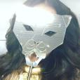 Bruna Marquezine brincou com máscara de Leão antes do Baile da Vogue