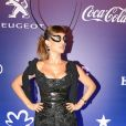 Mariana Ximenes, representou o signo de touro, no Baile da Vogue, realizado no Hotel Unique, em São Paulo, na noite desta quinta-feira, 16 de fevereiro de 2017