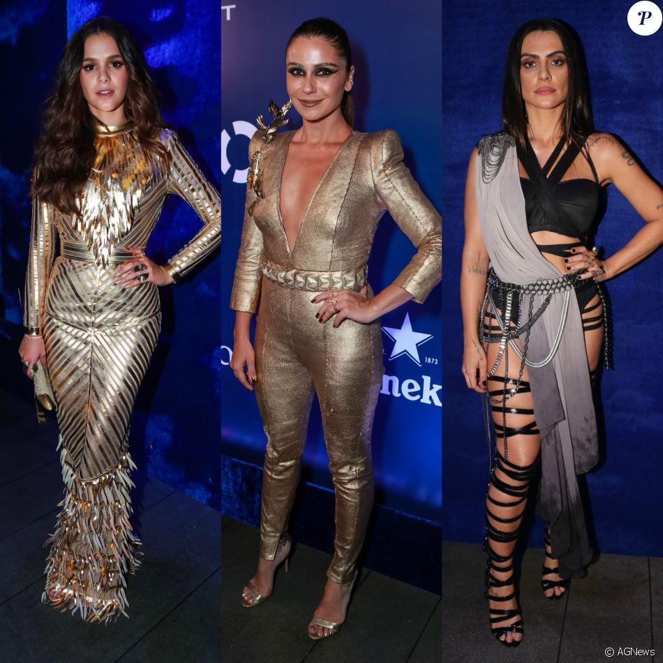 Atraso de Bruna Marquezine irritou Antonelli, Cleo Pires e mais atrizes no Baile da Vogue, indica Leo Dias no 'Fofocalizando' desta sexta-feira, dia 17 de fevereiro de 2017