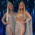 Giovanna Ewbank brincou sobre a fantasia de Claudia Leitte: 'Gêmeas'