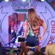 Ivete Sangalo se apresenta na feijoada da Grande Rio no hotel Royal Tulip