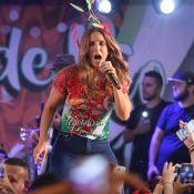 Ivete Sangalo faz show na feijoada da Grande Rio com presença de Thaila Ayala