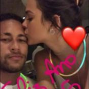 Neymar viajará ao Rio para passar Carnaval com a namorada, Bruna Marquezine