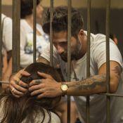 'Sol Nascente': em manifestação, Mario se prende dentro de cela junto de Alice