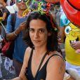 Carnaval: Mariana Lima também curtiu a Banda da Sá Pereira, em Botafogo, no Rio de Janeiro