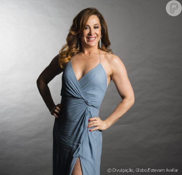 Claudia Raia, de 'A Lei do Amor', explicou como mantém o corpo em forma aos 50 anos