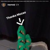Neymar mostra look e agradece a Bruna Marquezine por meia: 'Mozão'. Vídeo!