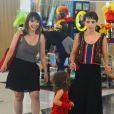Débora Falabella exibiu a semelhança com a irmã, Cynthia, nesta terça-feira, 21 de fevereiro de 2017