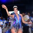 Daniela Albuquerque desfila na sexta-feira, 24 de fevereiro de 2017, como rainha da Acadêmicos do Tucuruvi