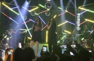 Morena, Eliana imita dupla Maiara e Maraisa com Tom Cavalcante: 'Engano'. Vídeo!