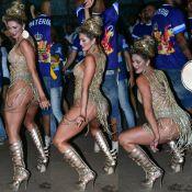 Lívia Andrade desce até o chão e se emociona em último ensaio para o Carnaval