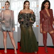 Fotos: Veja looks de Katy Perry, Rita Ora e mais famosas no BRIT Awards 2017