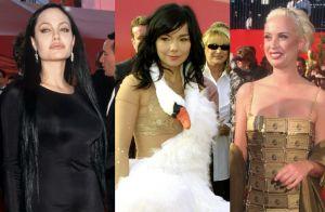 Relembre os looks mais exóticos que passaram no tapete vermelho do Oscar. Fotos!