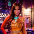 Hirô (Carolina Nakamura) usou fantasia de Pocahontas, no baile de carnaval da novela 'Sol Nascente'