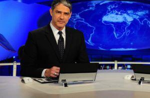 William Bonner explica sua ausência no 'Jornal Nacional': 'Gripe me derrubou'