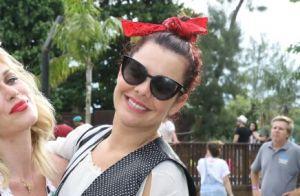 Fernanda Souza vai à feijoada de Preta Gil em comemoração a bloco de Carnaval