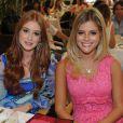 Marina Ruy Barbosa marca presença no La Rouge Belle, almoço promovido pela blogueira Lalá Rodge
