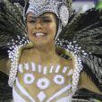 Rainha de bateria da Grande Rio, Paloma Bernardi  desfilou pela escola de Caxias  neste domingo, 26 de fevereiro de 2017