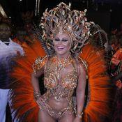 Viviane Araújo, há 10 anos na Avenida, vira Medusa no Salgueiro: 'Parece 1ª vez'