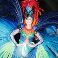 A atriz revelou o motivo de ter escolhido a fantasia de beija-flor: 'Símbolo de liberdade'