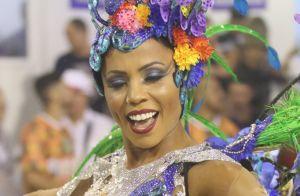 Musa da Tuiuti revela alimentação pré-desfile:'Comi rabada para ficar bem forte'