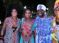 Taís Araújo e Lázaro Ramos curtem Carnaval em trio de Daniela Mercury. Fotos!