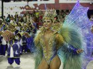 Carnaval: Tânia Oliveira estreia na Sapucaí com fantasia com mais de 12 kg