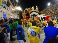 Acidente com carro alegórico marca desfile da Unidos da Tijuca e deixa feridos