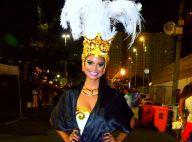 Aline Dias passa bem após acidente da Unidos da Tijuca: 'Ela não se machucou'