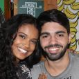 Aline Dias detalhou o namoro com Rafael Cupello: ' A gente está sempre equilibrando para não perder o respeito, o companheirismo e a confiança'