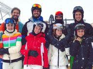 Marina Ruy Barbosa esquia com Xandinho Negrão e amigos na Suíça. Veja fotos!