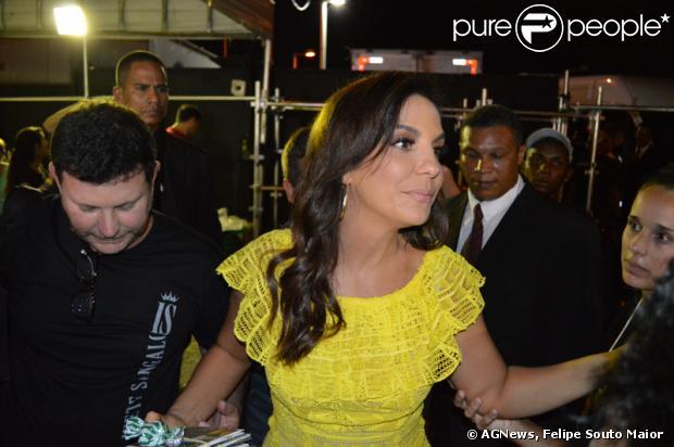 Ivete Sangalo canta em DVD da cantora pernambucana Nena Queiroga, 'Pernambuco para o mundo', em 16 de fevereiro de 2014