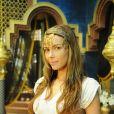 Namnu (Fran Fischer) é serva de Nitócris (Sthefany Brito) e cuidadora de Belsazar (João Barrreto) , na novela 'O Rico e Lázaro'