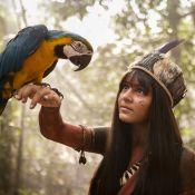 Giullia Buscacio, de 'Novo Mundo', lembra banquete em tribo indígena: 'Jabuti'