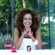 Alinne Prado é repórter do 'Vídeo Show' e já apresentou o programa na bancada da atração