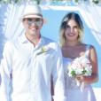 Wesley Safadão e Thyane Dantas renovaram os votos de casamento em um cerimônia nas Ilhas Maldivas