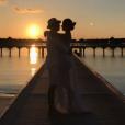 Wesley Safadão e Thyane Dantas renovaram os votos de casamento nas Ilhas Maldivas, onde estão curtindo lua de mel