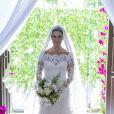 Giovanna Antonelli se dedica às gravações finais da novela 'Sol Nascente': em março de 2017, a atriz gravou o tão esperado casamento de Mario (Bruno Gagliasso) e Alice (Giovanna Antonelli)