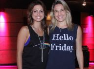 Fernanda Gentil faz post para a namorada, Priscila Montandon, na web: 'Saudades'