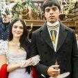 Piatã (Rodrigo Simas) e Anna Melman (Isabelle Drummond) serão irmãos na novela 'Novo Mundo', que estreia no próximo dia 22 de março na Globo