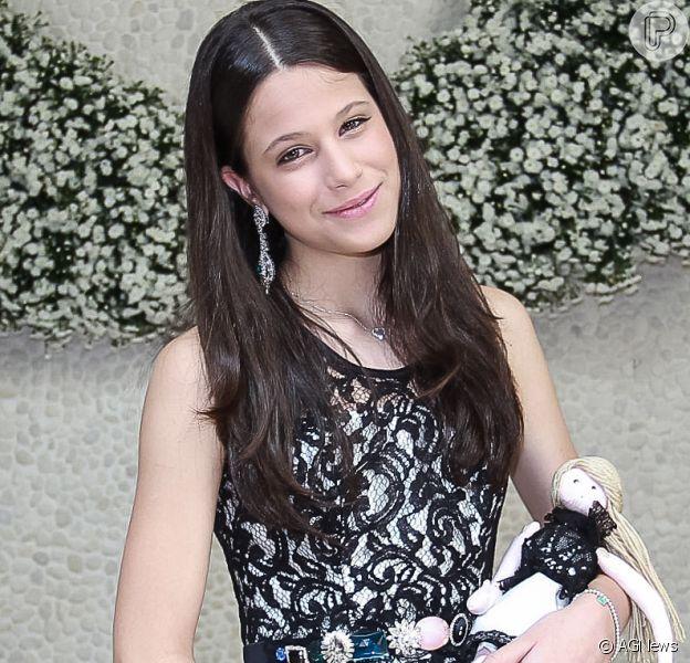 Sophia, filha de Claudia Raia e Edson Celulari, de 14 anos, está namorando. Informação foi confirmada por Edson Celulari, pai da adolescente, neste domingo