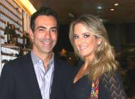 Ticiane Pinheiro e Cesar Tralli mantêm contato após fim do namoro: 'Falo direto'