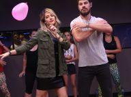 Giovanna Ewbank e José Loreto dançam zumba em inauguração de academia. Fotos!