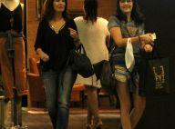 Fátima Bernardes se diverte em dia de compras com a filha Laura no Rio. Fotos!