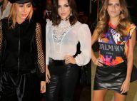 Sabrina Sato, Kéfera e mais famosos vão a São Paulo Fashion Week. Fotos!