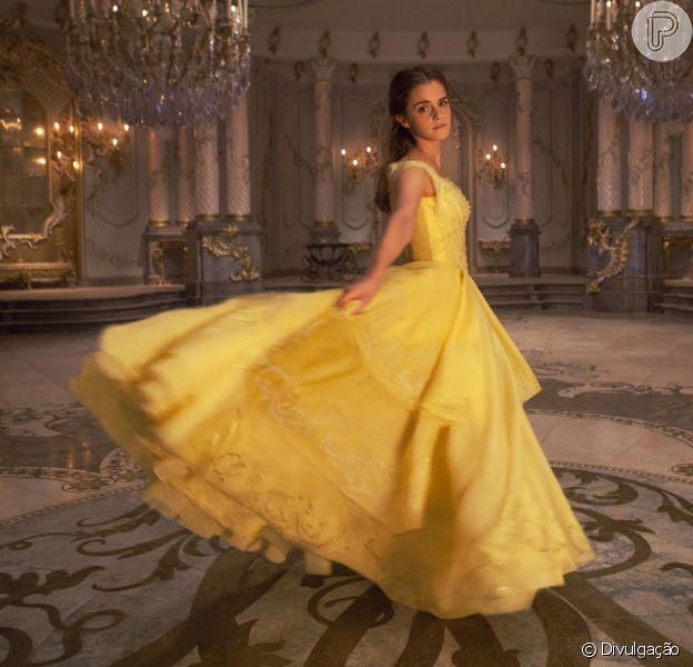 Emma Watson avalia protagonista de 'A Bela e A Fera', cuja estreia é nesta quinta-feira, dia 16 de março de 2017