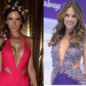 Alessandra Ambrosio exibe seios maiores, mas nega silicone: 'Não coloquei nada'