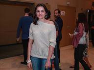 Monica Iozzi prestigia Felipe Simas e Kayky Brito em estreia de peça em SP