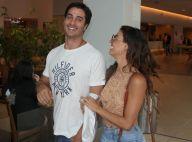 Isis Valverde passeia por shopping do Rio ao lado do namorado, André Resende