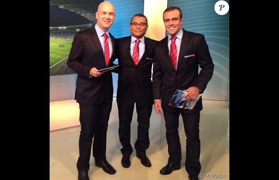 Roger Flores é comentarista do 'Troca de Passes', do Sportv e cometeu a gafe no programa deste domingo, 19 de março de 2017